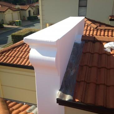 Gable wall waterproofing
