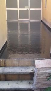 Remedial balcony waterproofing